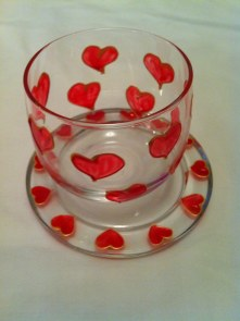 Tealight Cup (£4.00), Candle Tray (£3.00)