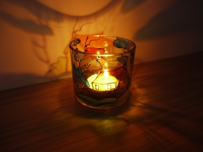 Art Deco Small Tealight Cup