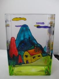 Art Deco Vase (£10.00)