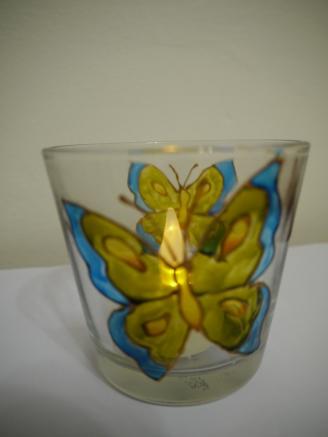 Butterfly Medium Tealight Cup
