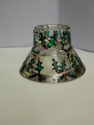 Holly Candle/Tealight Holder (£4.00)