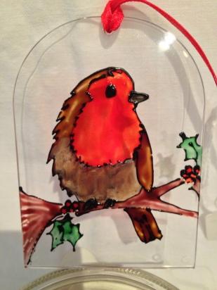 Robin Christmas Decoration (£4.00)