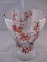 Japanese Apple Blossom Vessel Vase (£8.00)
