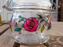 Pink Art Nouveau Rose (0.5l) £5.00
