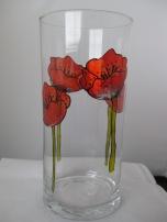 Poppy Vase (£8.00)