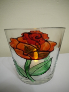 Rose Large Tealight Cup