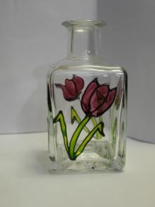Small Tulip Bottle_Vase - £4.50