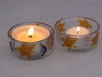 Star & Moon Large Tealight Holders