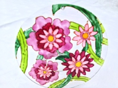 Abstract Pink Flowers (Med2)