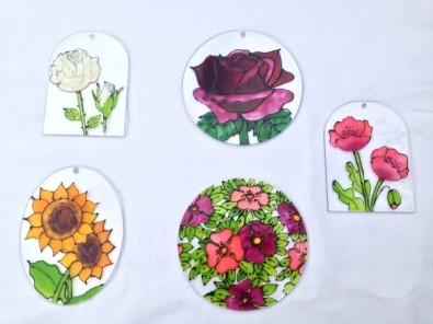 Flower Suncatchers