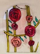 Art Nouveau Rose