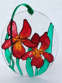 Red Gold Iris