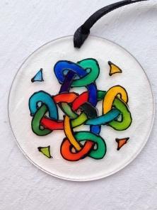 Colourful Celtic Knot