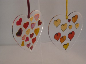 Heart of Hearts Suncatcher (£3)