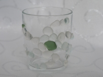 Seaglass candle holder £6.00